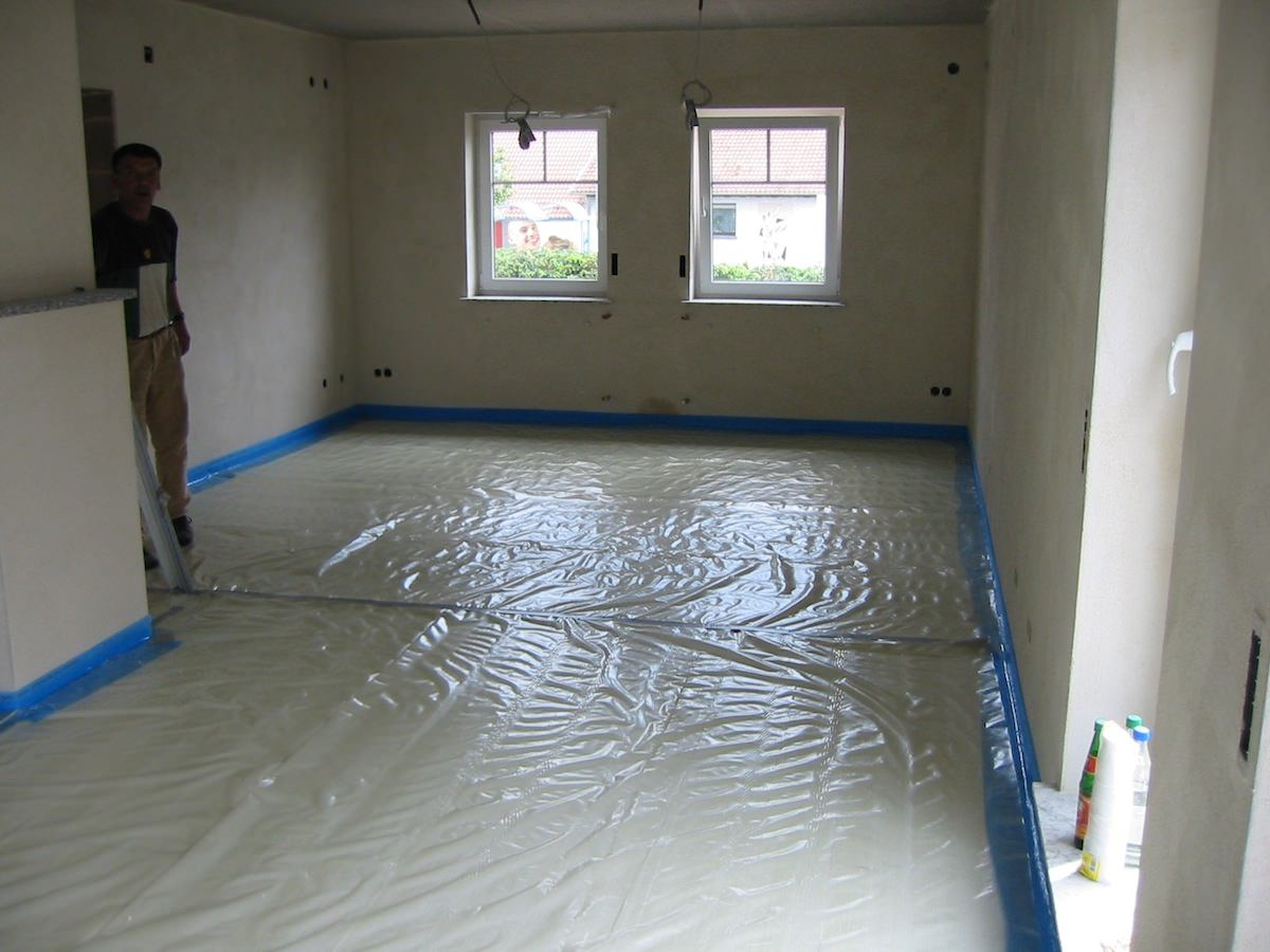 bodenbau klos estrich auf d mmschicht. Black Bedroom Furniture Sets. Home Design Ideas